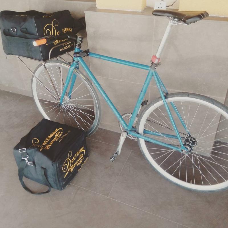 Проффесиальный вело курьер