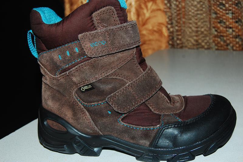 Зимние ботинки ecco 33 размер gore tex