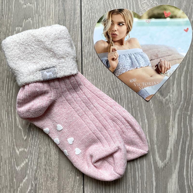 Теплые носки victoria's secret