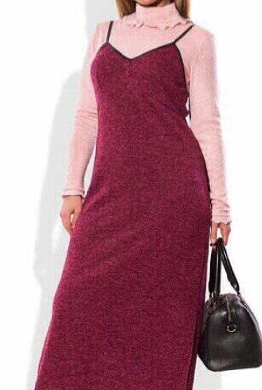 Платье-сарафан с гольфом ,см.описание!