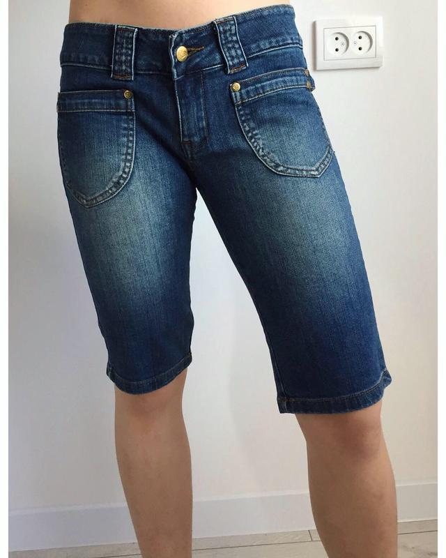 Шорти до колін, бриджі. джинсовые шорты, велосипедки, удлиненн...