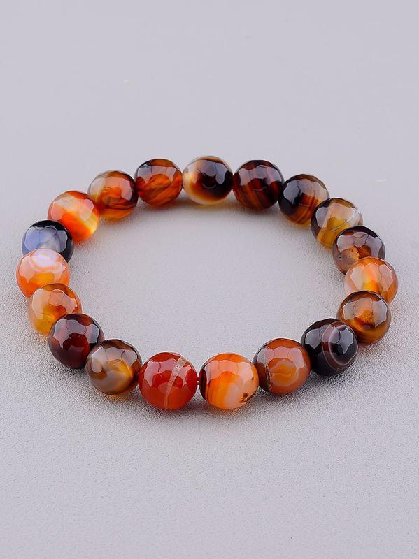 Браслет 'sunstones' сердолик 18 см. 0835020