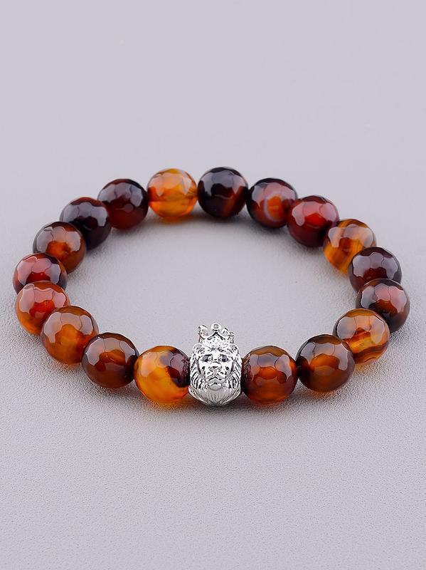 Браслет 'sunstones' сердолик 18 см.  0835210