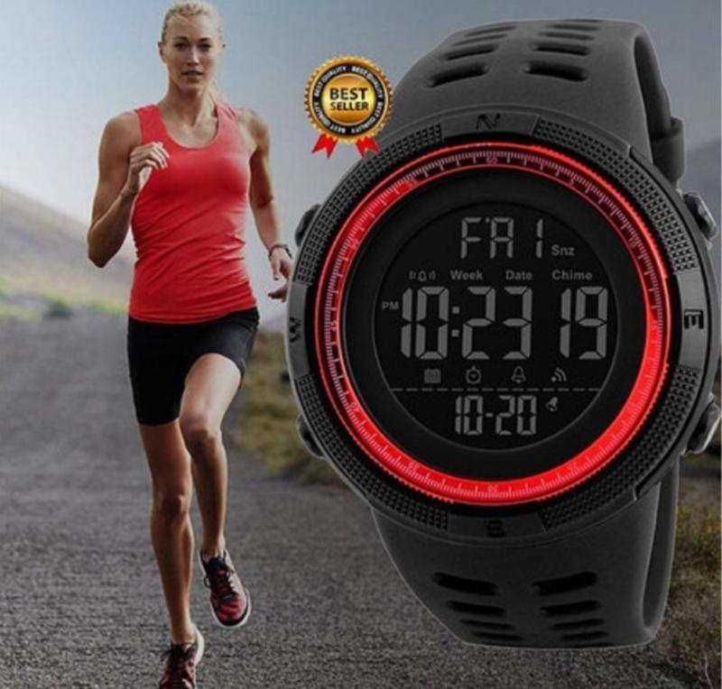Спортивные мужские часы Skmei Amigo 1251 Красные