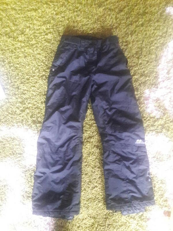 Теплые лыжные штаны для девочки