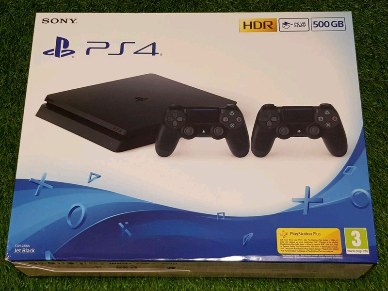 PS4 Slim 500gb новая
