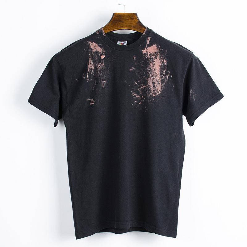 Черная футболка женская, базовая футболка оверсайз