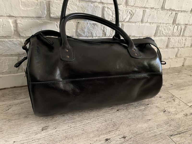 Кожаная сумка дорожная сумка