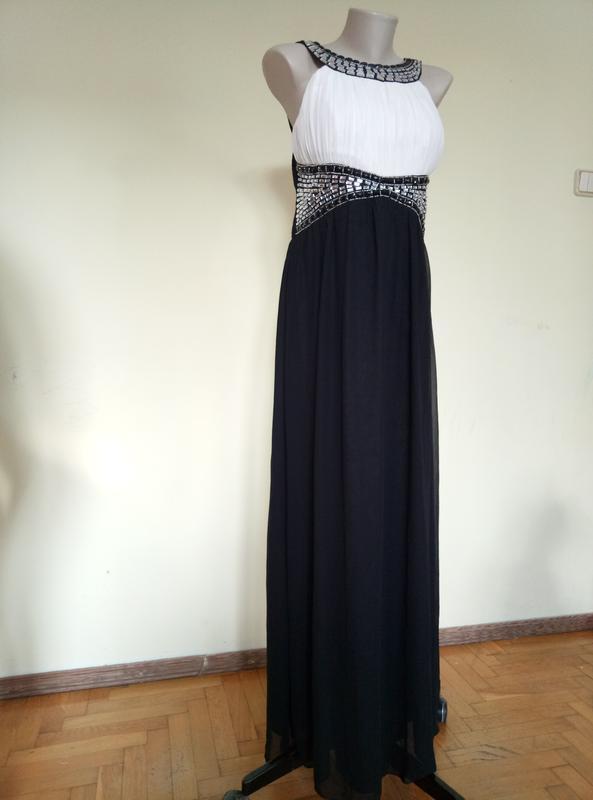 Шикарное вечернее длинное платье