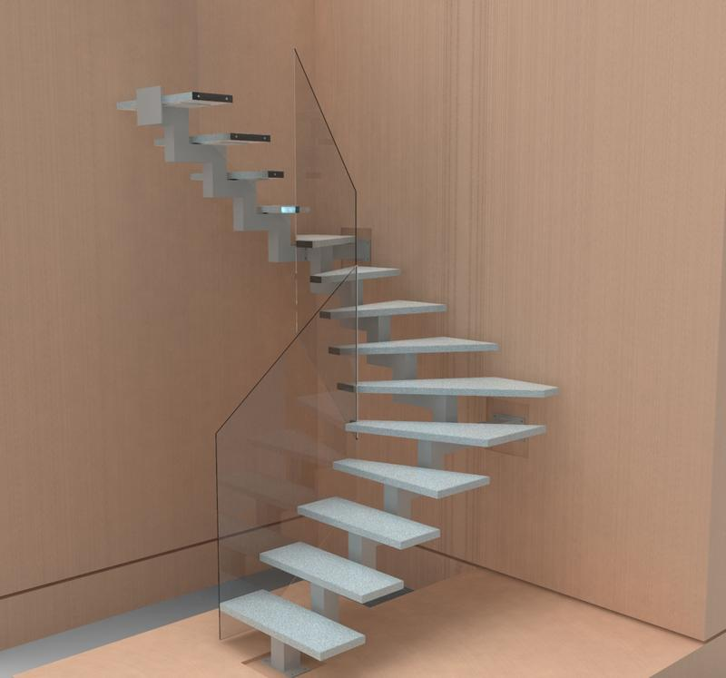 3D моделирование лестниц
