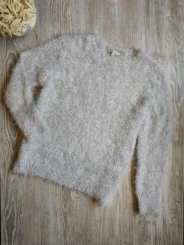 Блестящий свитер травка peacocks размер 20