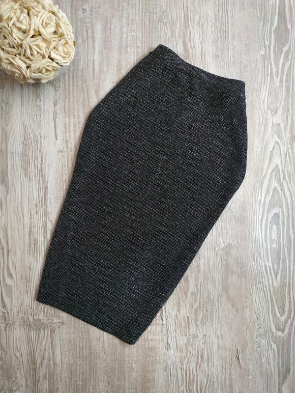 Новая юбка карандаш миди с люрексом atmosphere размер 12