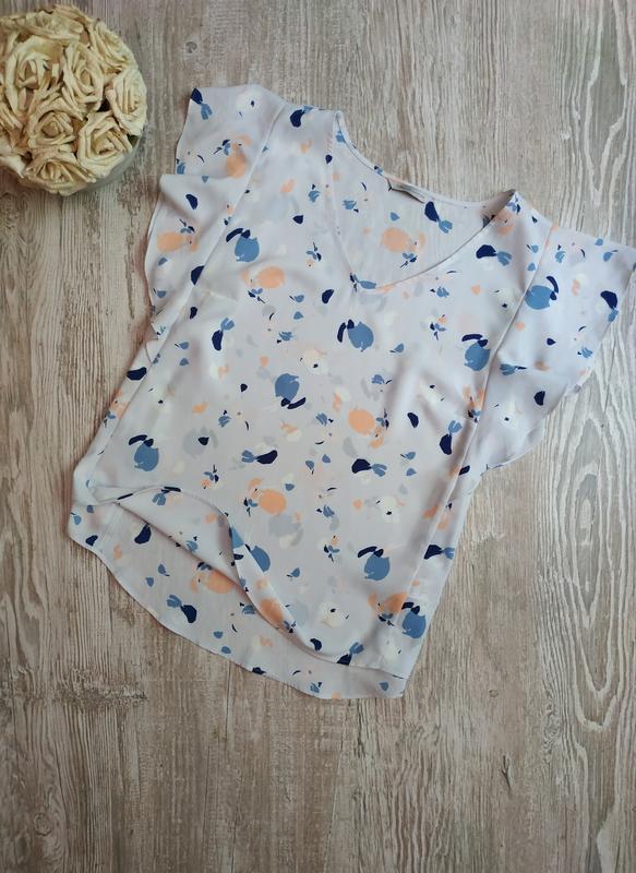 Лёгкая блузка m&s размер 18