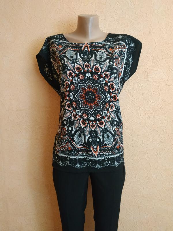 Легкая блузка прямого кроя select размер 12