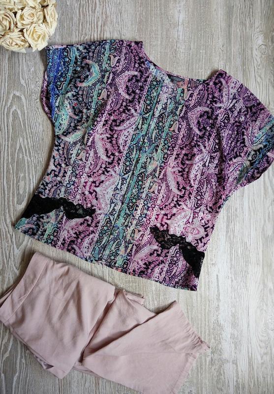Блузка m&s размер 14