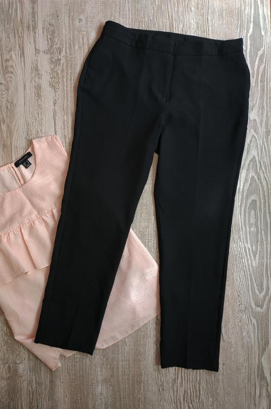 Зауженные укороченные брюки bonmarche размер 12