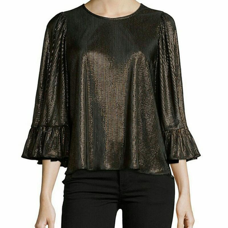 Нарядная блузка с воланами на рукавах george размер 16