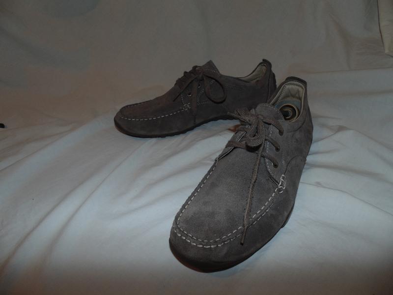 Кроссовки туфли мокасины топсайдеры geox оригинал замша и кожа