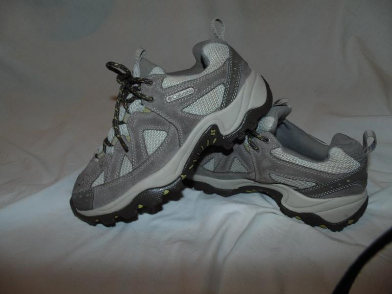 Кроссовки ботинки columbia оригинал замша и кожа как новые без...