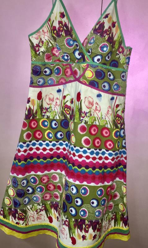 Лёгкий летний сарафан платье на брителях