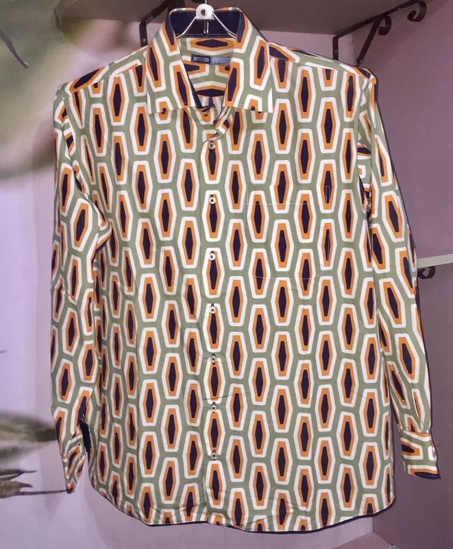 Очень стильная мужская рубашка италия бренд «estebe»