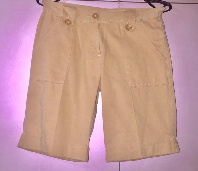 Шорты джинсовые пудрового цвета от «new look