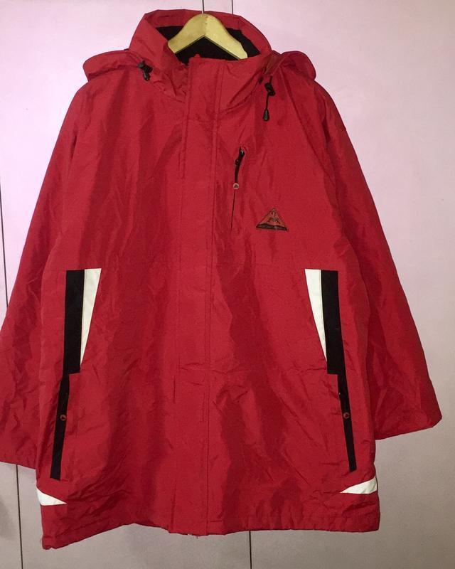 Куртка мужская лыжная красная atlas for men