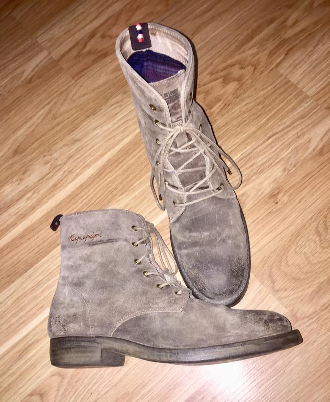 Ботинки из натуральной кожи ( замши)каблуке  от napapijri
