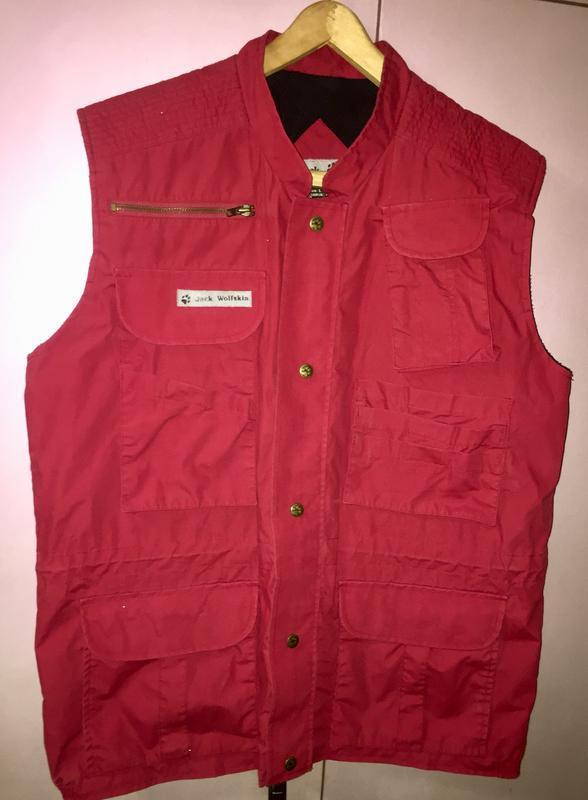 Мужская куртка жилетка jack wolfskin