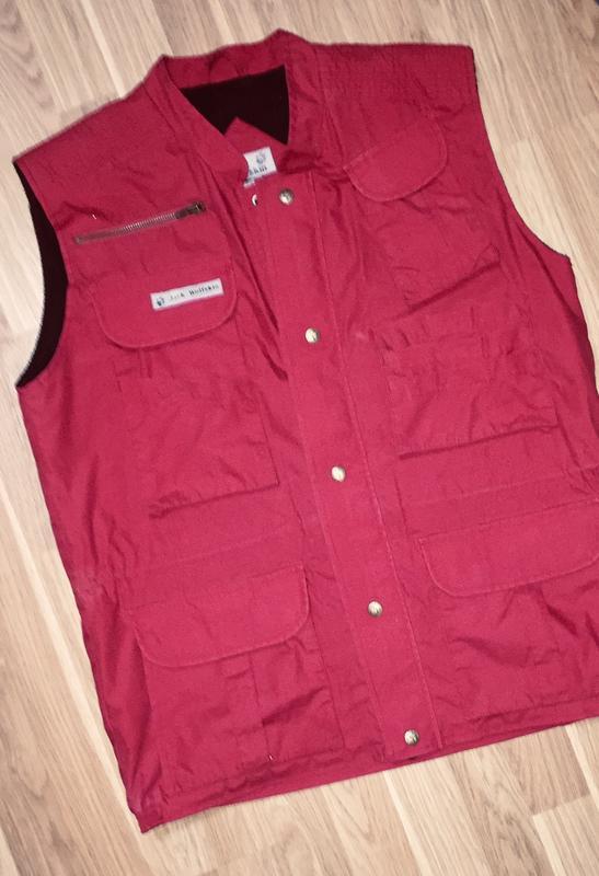 Мужская куртка жилетка jack wolfskin - Фото 5