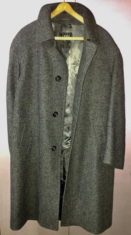 Мужское пальто из 100% шерсти шотландия