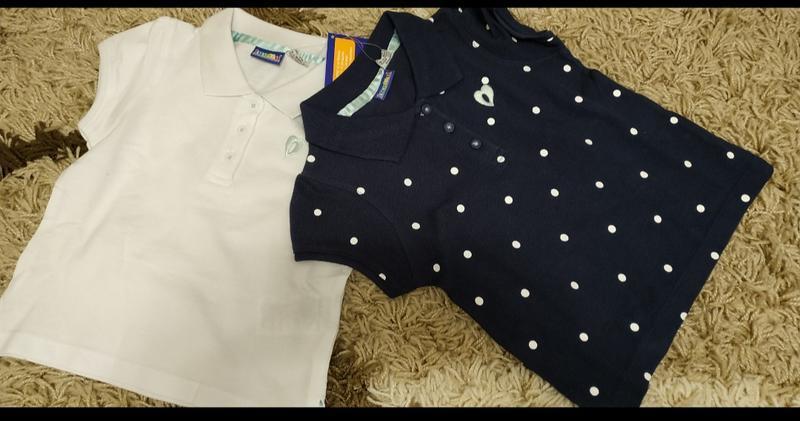 Комплект футболок поло 86-92