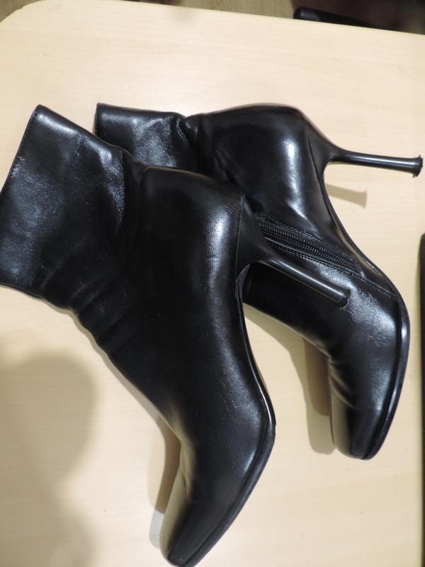 Кожаные ботиночки, деми, 38 размер