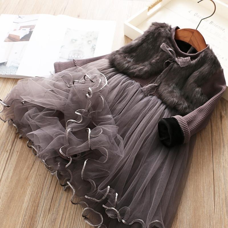 Красивое нарядное платье девочке