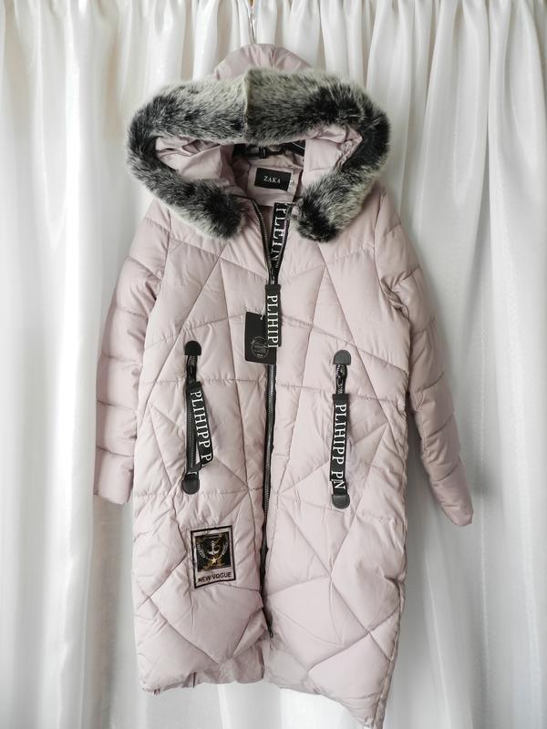 ⛔✅ зимняя тёплая куртка пальто не продуваемая с глубоким капюш...