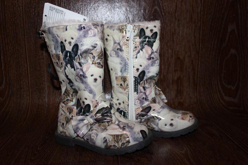 Сапожки ботинки зимние