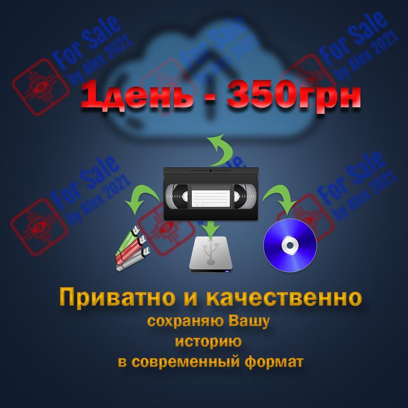 Оцифровка видеокассет и фотографий