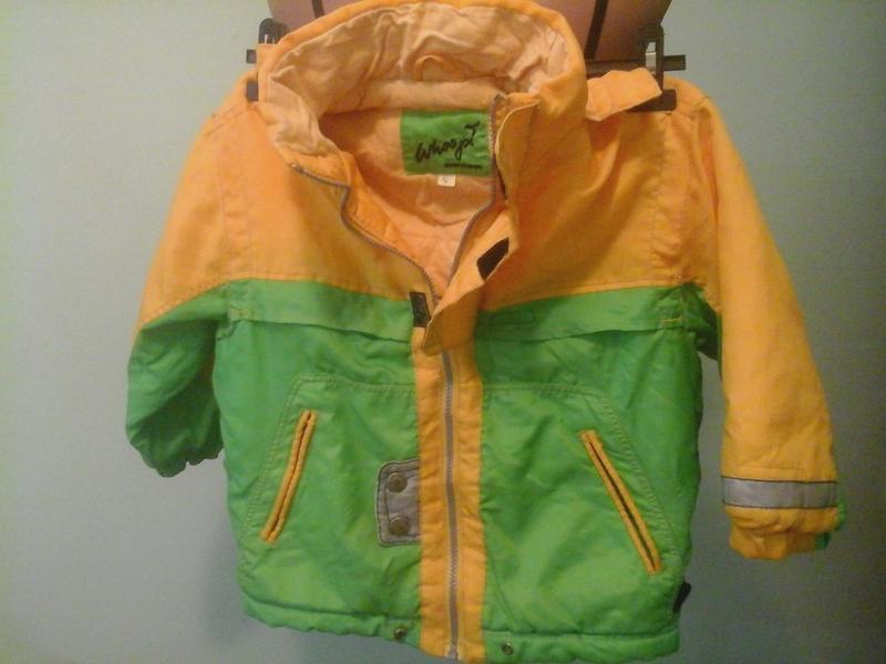 Куртка ветровка детская, на байке (см.замеры)