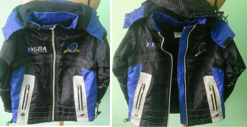 Детская куртка sbi fashion, синтепон, флис