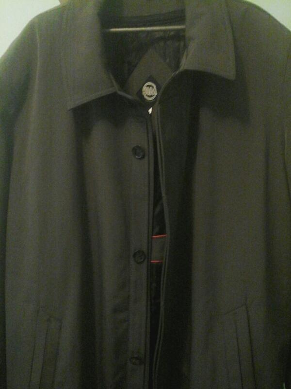 Плащ-пальто jim exclusive, с подстежкой
