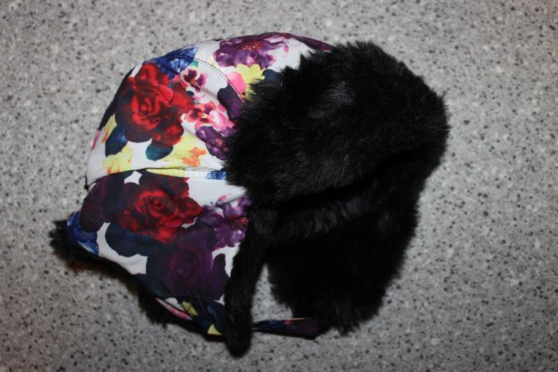 Тёплая шапка ушанка