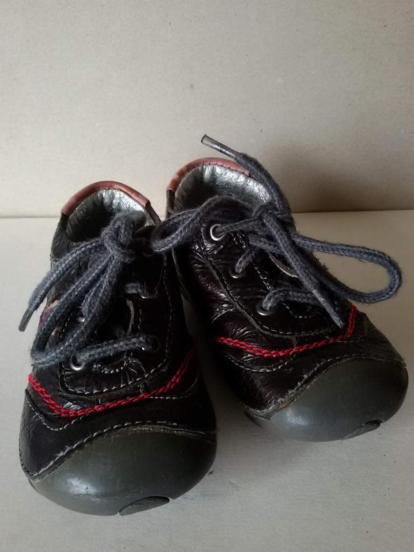 Кожаные туфельки для малыша