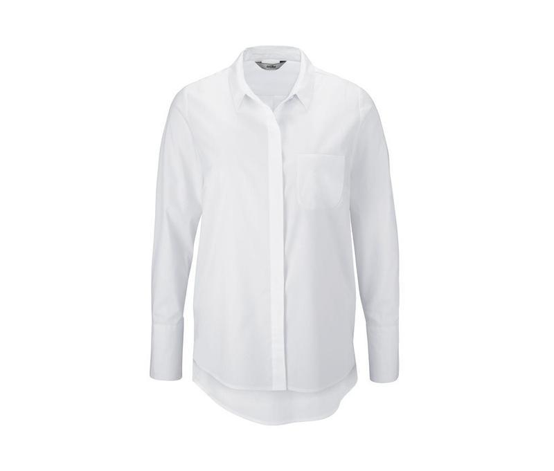 Стильная рубашка, блузка из био хлопка от tcm tchibo германия,... - Фото 2