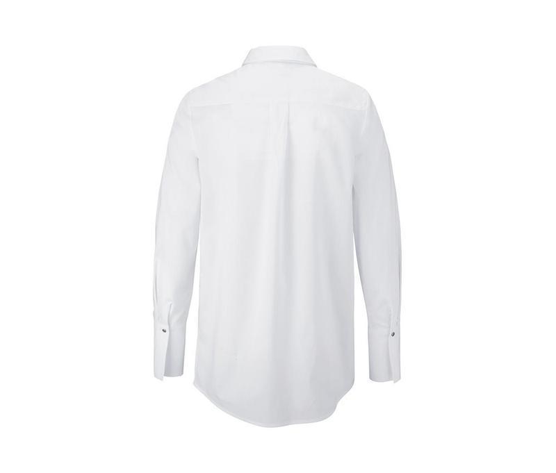 Стильная рубашка, блузка из био хлопка от tcm tchibo германия,... - Фото 3