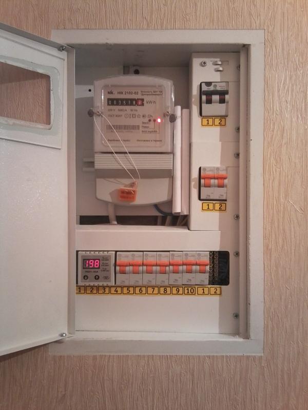 """Замена """"пробок"""" на автоматические выключатели, установка УЗО и... - Фото 4"""