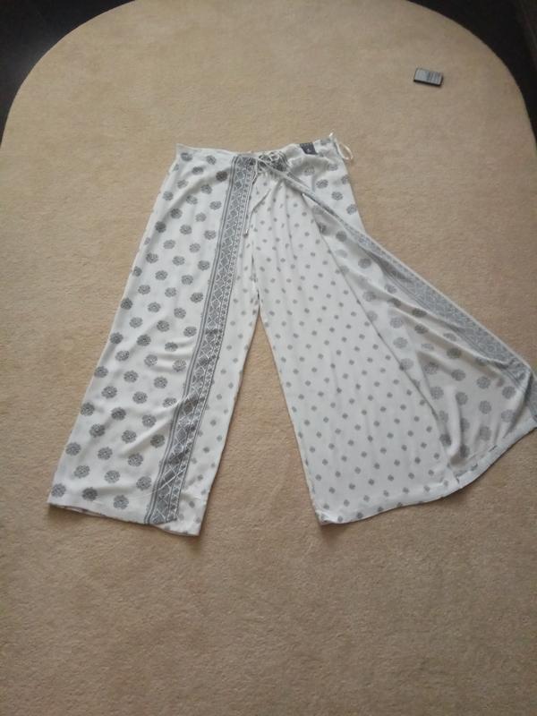 Брюки юбка-брюки вискоза