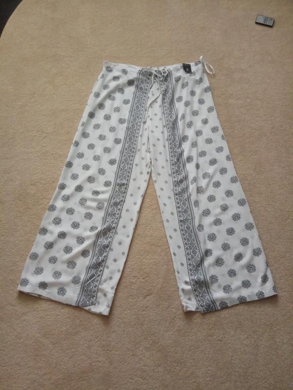 Брюки юбка-брюки вискоза - Фото 2