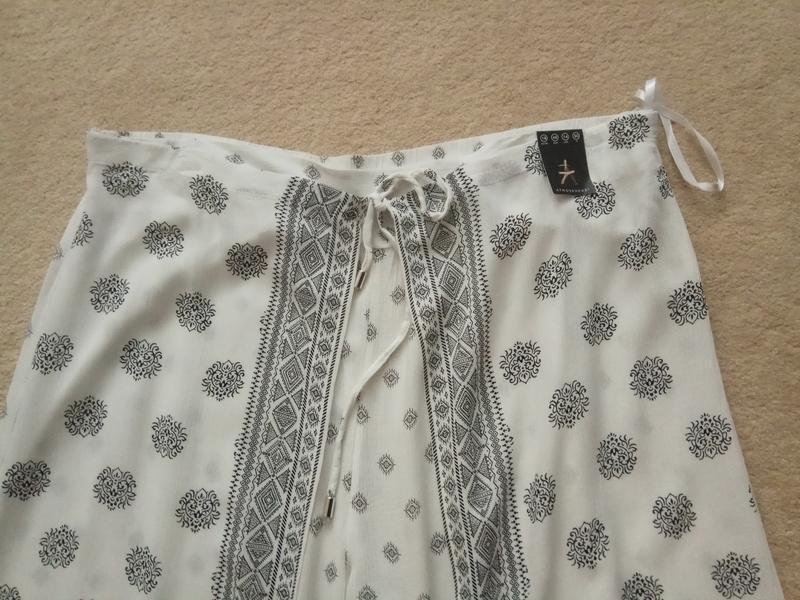 Брюки юбка-брюки вискоза - Фото 3