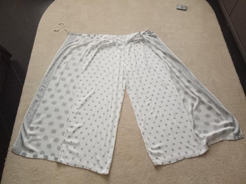 Брюки юбка-брюки вискоза - Фото 4