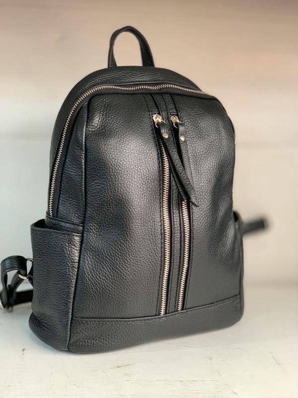 Рюкзак чёрный большой италия